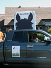 Blackie in the Belvedere/Tiburon Labor Day Parade